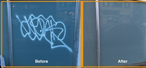 Anti Graffiti Film Protection
